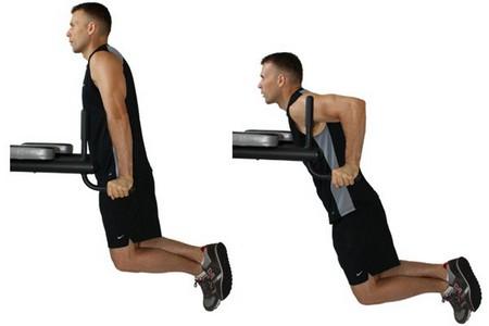 Програма віджимань на брусах і робота яких м'язів потрібно