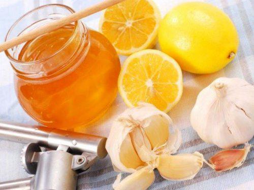 лимон с чесноком и медом