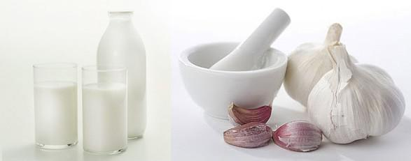 молоко и чеснок от кашля у взрослого
