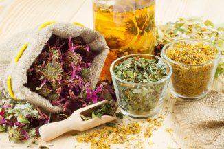 травяные отвары для полоскания горла
