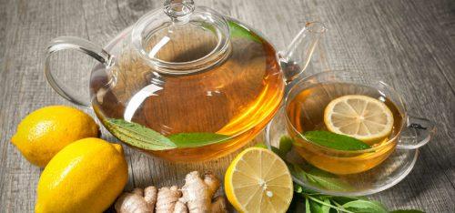 имбирь и чай от простуды