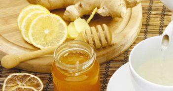 корень имбиря от простуды рецепт с лимоном