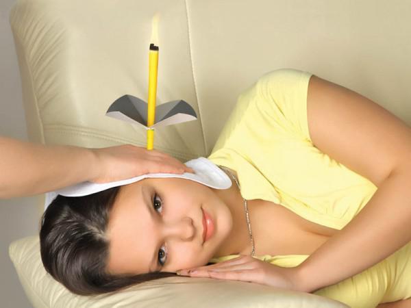 Использование ушных свечей