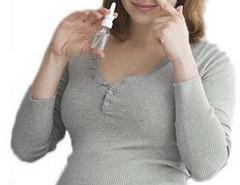 применение назального спрея беременной