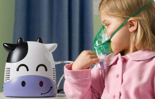 использование небулайзера для ребёнка