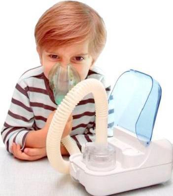 инголяции ребёнку небулайзером