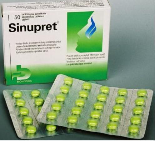 синупрет в таблетках