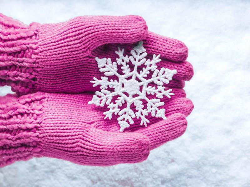 Цыпки на руках от холода и ветра