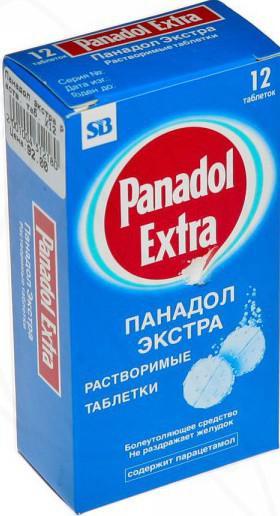 Панадол как жаропонижающее средство для лечения в домашних условиях