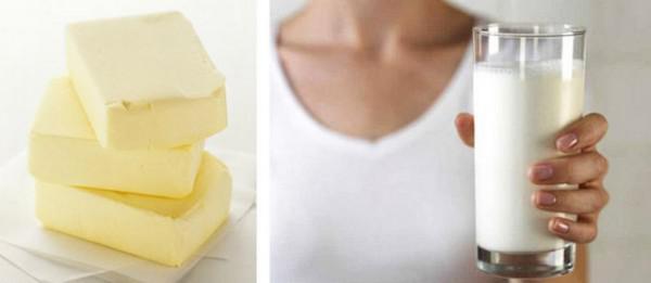 горячее молоко с маслом и содой от кашля