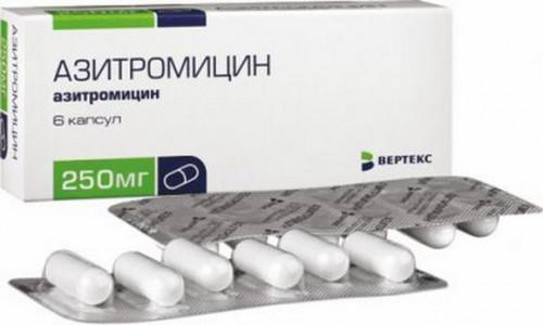 Азитромицин для лечения болячек в носу у детей