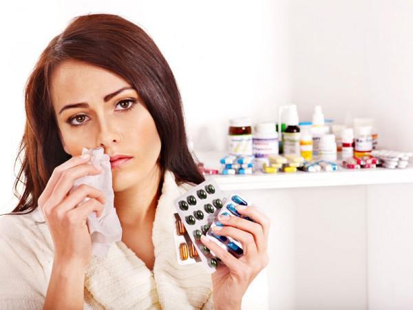 приём антибиотиков взрослым