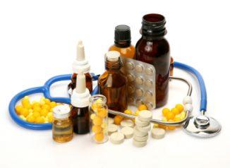 принятие лекарств от гриппа