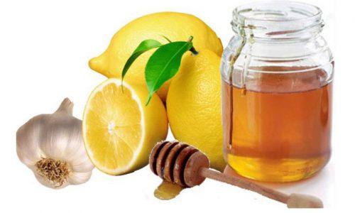сироп из чеснока и лимона