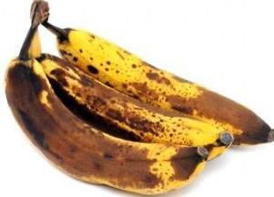 переспелый банан на терке