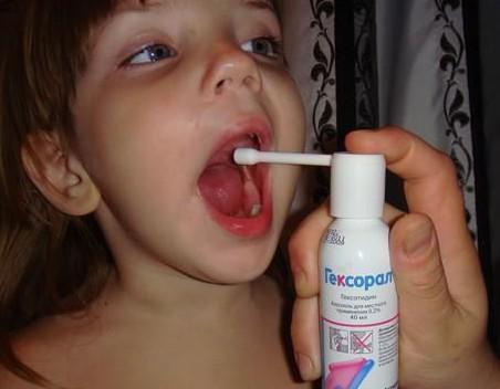 гексорал спрей для детей