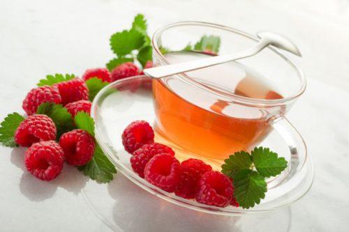 чай из цветков малины