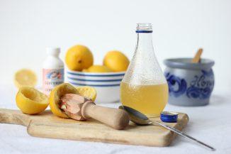 сок лимона от кашля