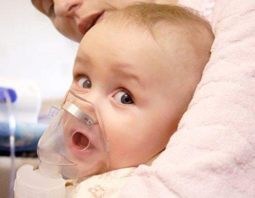 ингаляция для маленького ребёнка