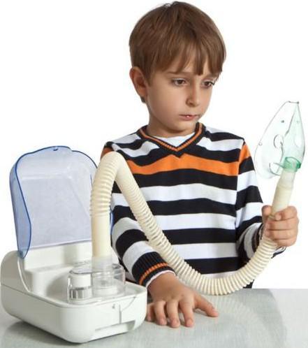 ингаляция от лающего кашля у детей