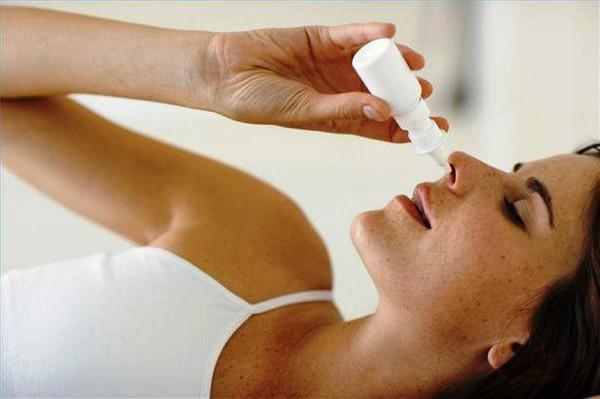 закапывание носа беременной