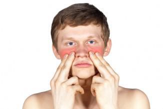 массаж пазух носа ребёнку