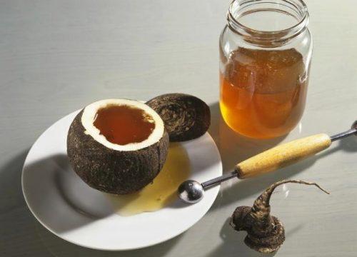 мед с соком редьки