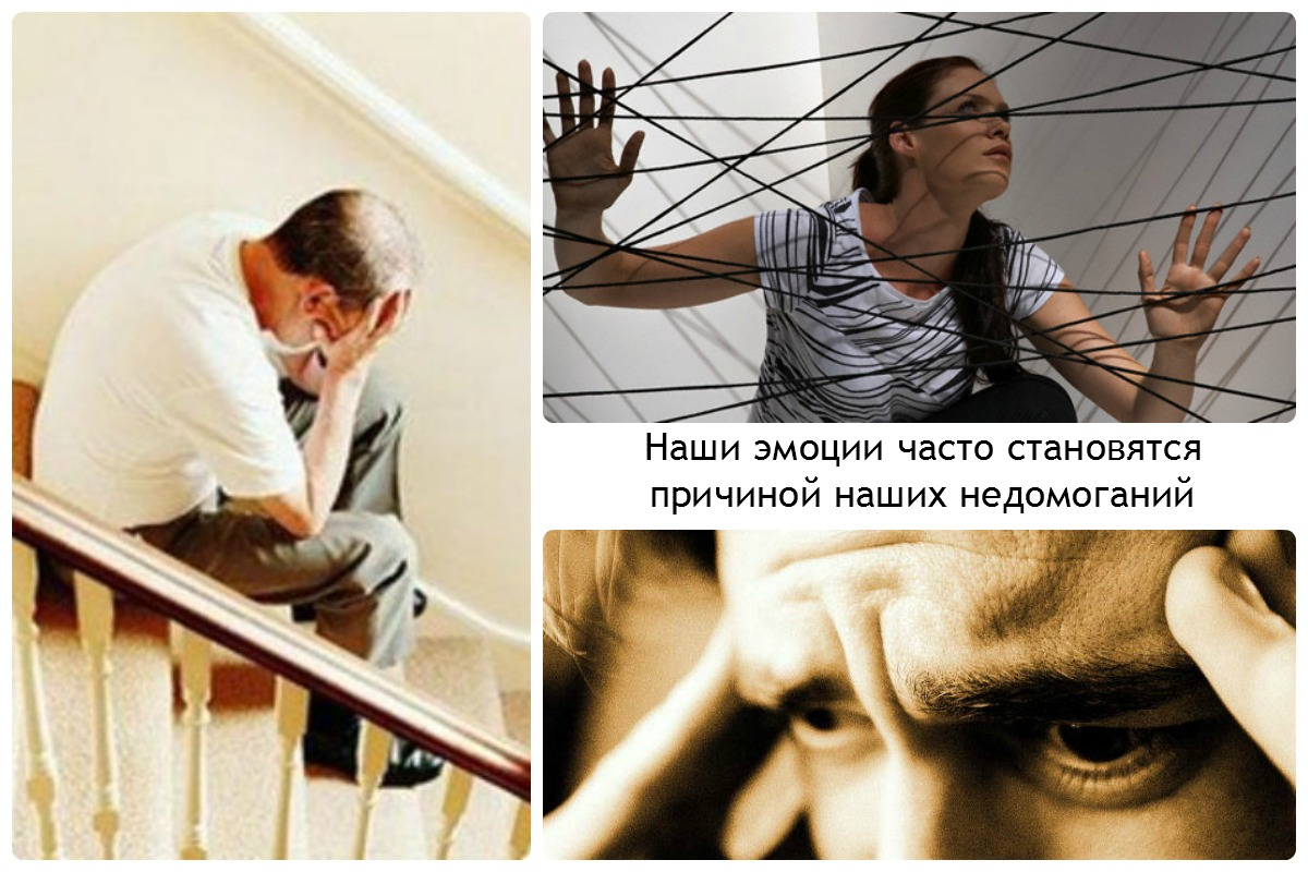 Таблиця чоловічих психосоматичних захворювань