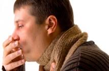 у взрослого сухой кашель насморк без температуры