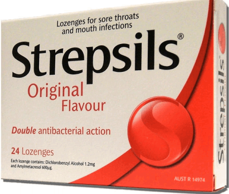 Стрепсилс для беременной или кормящей грудью