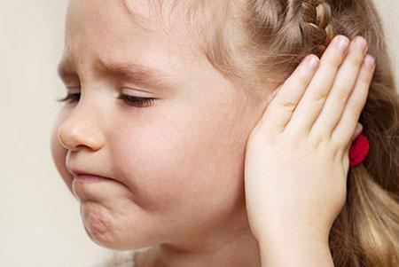 Отит среднего уха у детей