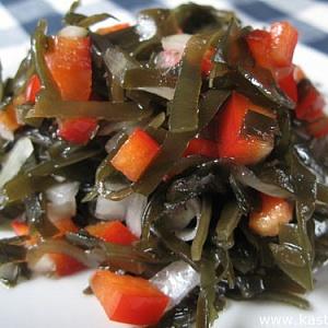 Салат из морской капусты