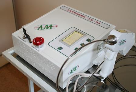 Аппарат для лазерной операции