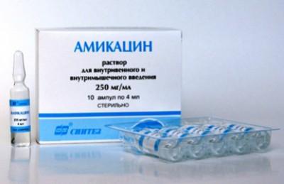 инструкция препарата Амикацин