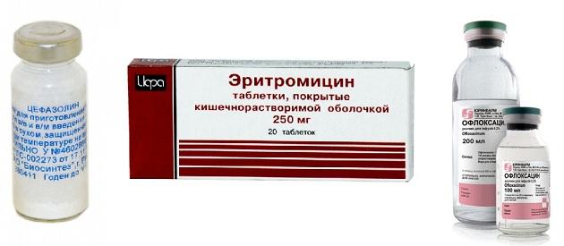 Антибиотики, используемые при кашле
