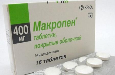 Макропен - антибиотик группы макролидов