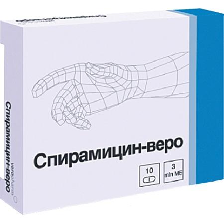 Спирамицин - представитель макролидного ряда средств