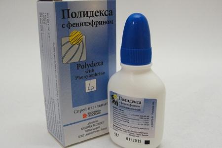 В качестве средств местного применения часто используется Полидекса