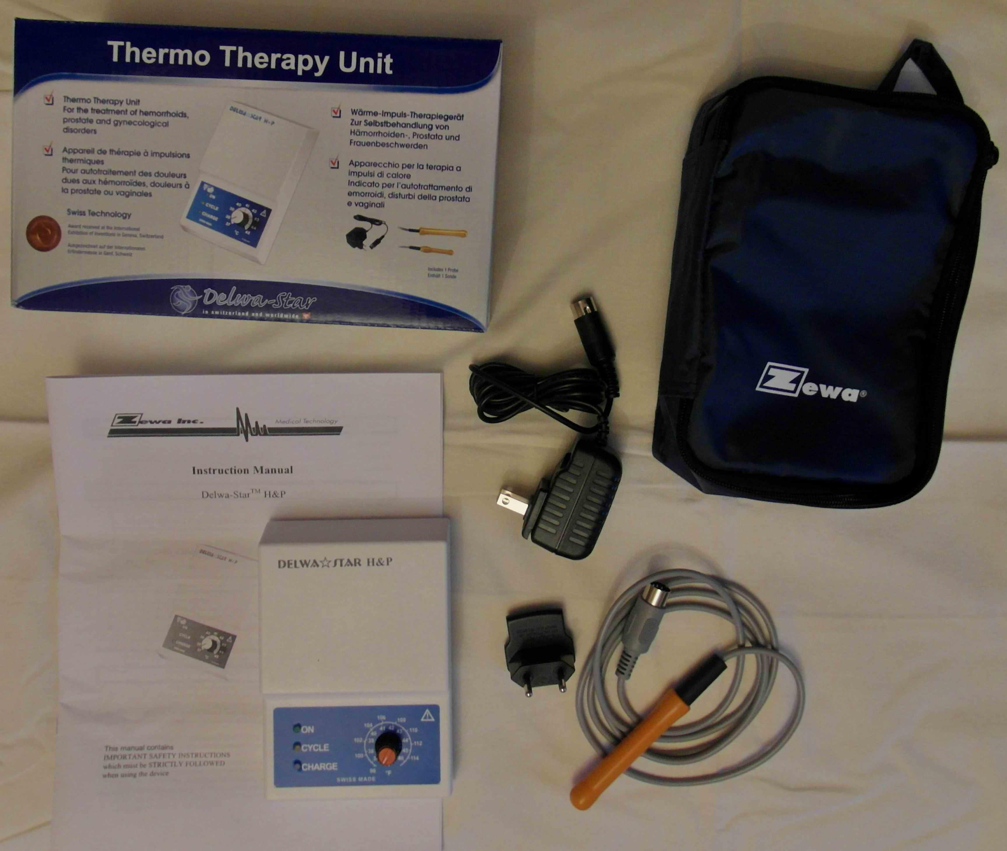 Застосування апарату для лікування аденоми в домашніх умовах