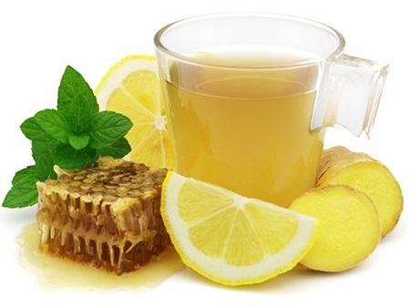 Классическое народное средство - чай с лимоном и медом