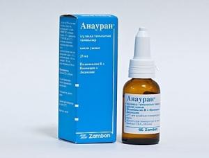 Капли Анауран помогают быстро снять боль