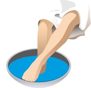 В период беременности противопоказаны горячие ножные ванны