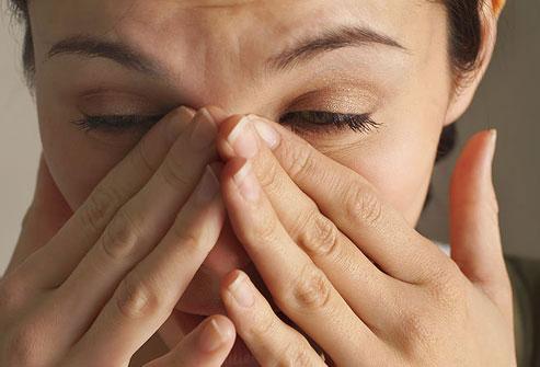 признаки гайморита заложенность и выделения из носа
