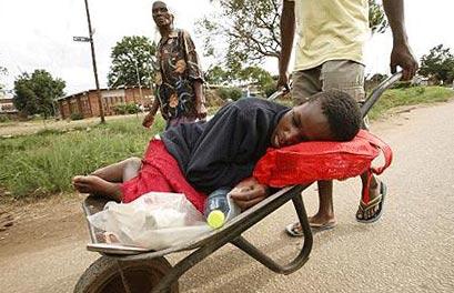 эпидемия холеры в Зимбабве