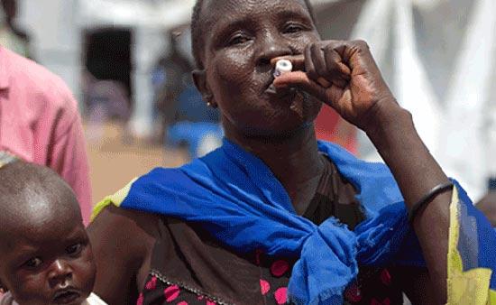 эпидемия холеры в Южном Судане