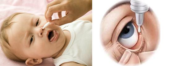уход за глазами и полостью рта и носа