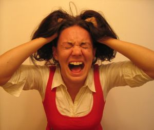стрессовое состояние у женщины