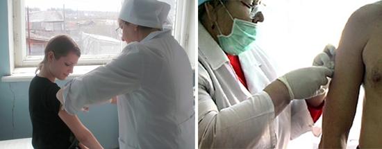 вакцина от туляремии вводится внутрикожно