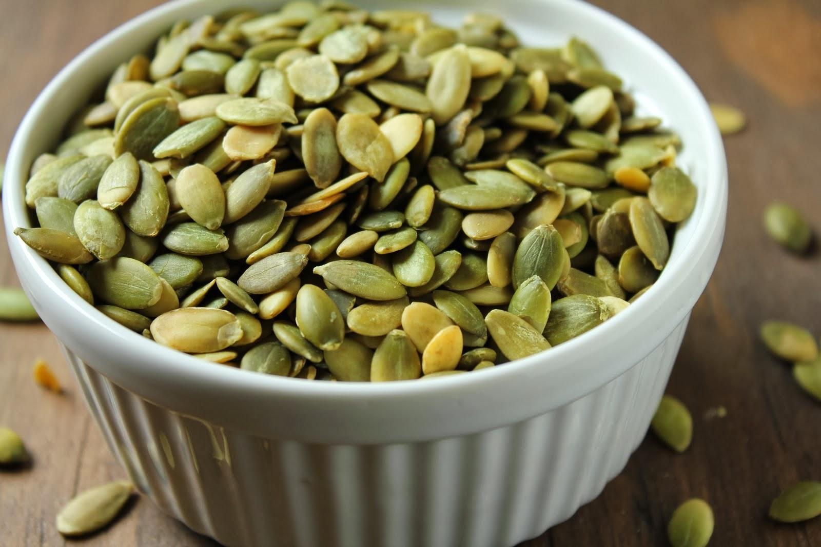 Гарбузове насіння при простатиті