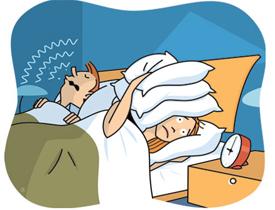 Одним из симптомов болезни может быть ночной храп